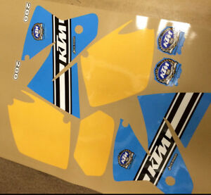 1997 KTM Jackpiner 200 Graphics Kit Decal Sticker Reproduction