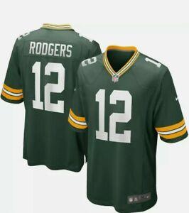 Nike, NFL, Green Bay Packers, Football-Shirt, Gr. XXL, Aaron Rodgers Nr. 12