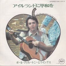 Wings (Paul McCartney-Beatles) Give Ireland Back To The Irish Japan 45 W/PS