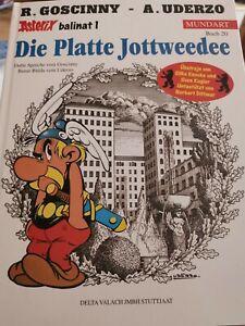 Asterix Mundart Bd. 20 Die Platte Jodweedee (Berliner Mundart) 1.Auflage Zustand