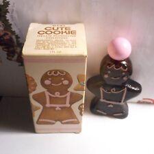 "Avon Cute Cookie decanter with""Hello Sunshine""cologne 1.0 FL.OZ.Ginger Bread man"