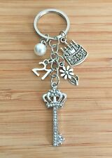 "21st Birthday Gift - Keyring ""key to the door"" Traditional birthday gift"