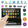 "Single 1 Din 7"" HD Bluetooth Car Stereo MP5 Player Touch USB TF AUX FM/AM Radio"