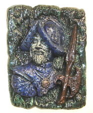 Medieval Renaissance Man Wall Plaque Home Decor Vintage 15""