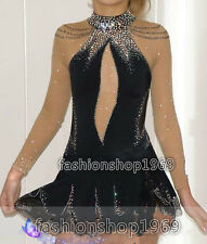 Figure Ice Skating Dress Baton Twirling Custom Dance Dress Competition xx267