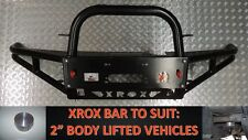 "2"" OR 50MM BODY LIFT XROX BULL BAR, HOLDEN RODEO RA 2003 - 10/2007, ADR, AIRBAG"