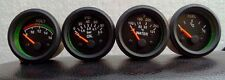 Electrical Oil Pressure Temperature  Volt  Fuel Gauge 52 mm Dual Scale