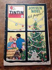 journal tintin 530 France (1958) couv Hergé avec calendrier 59 côte BDM + 50e