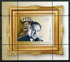 More details for estonia music stamps 2020 mnh georg ots opera singers famous people 1v m/s