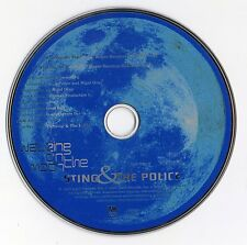 "STING & THE POLICE ""WALKING ON THE MOON"" CD SINGLE / INC. ROGER SANCHEZ EVA MIX"