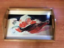 1997 Coca Cola Coke Wooden Tray - Sprite Boy - 49cmX34cm