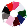 10pcs 7x9cm Velvet Bags Jewelry Wedding Party Favors Gifts Drawstring Pouches