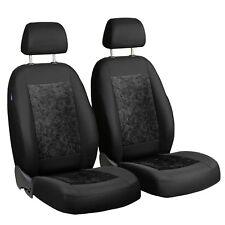 schwarzer Velours Sitzbezüge für BMW X1 Autositzbezug vorne