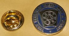 key stone lapel badge mark master mason freemason masonry the mark round
