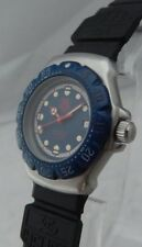 Tag Heuer F1 Formula One 29mm Ladies SS/Blue All Orig 1990's Vintage Watch