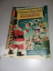 Christmas Story Book #1 Woolworth's Giveaway promotional Comics 1953 golden age