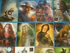 The Lord Of The Rings 'MASTERPIECES' Base Set Of 90 All-Artwork Trading Cards