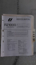 SANSUI rz-1000 Service Manual Original Reparatur Buch Stereo Receiver Tuner Radio