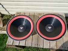 New ListingCerwin Vega Atw-15 Woofers, Pair, At-15, Refoamed, Tested ,Working