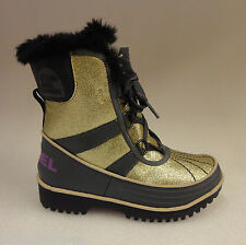 Sorel Childrens Tivoli II Boots NC1871 Pale Gold/Razzle Size 8