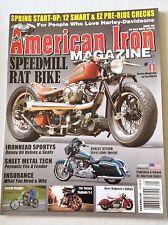 American Iron Magazine Magnum X-1 Steve McQueen April 28, 2015 030217NONRH