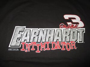 """DALE EARNHARDT """"THE IMTIMIDATOR"""" 1999 Nascar Winston Cup Schedule (2XL) T-Shirt"""