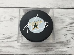Ken Hitchcock Signed Dallas Stars Hockey Puck Autographed a