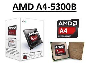 AMD A4-5300B Dual Core Processor 3.4 - 3.6 GHz, Socket FM2, 65W CPU