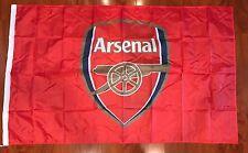 Arsenal Flag Banner 3x5 ft England Soccer Football Futbol Fan Man Cave