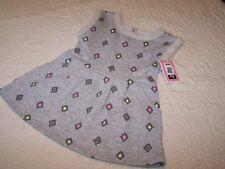 Size 2T~Gray/Diamond Print Summer Dress with Pockets~Circo~NWOT~Circo2