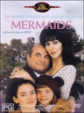 MERMAIDS (CHER Bob HOSKINS Winona RYDER) Romantic COMEDY Film DVD NEW Region 4