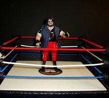 WWE ONE MAN GANG  1991 jakks CUSTOM FIGURE  classic legend WCW wwf