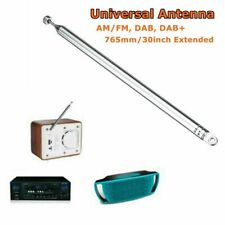 Universal 7Section 765mm Pure Radio FM DAB Replacement Antenna Telescopic Aerial