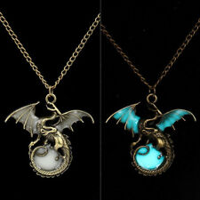 Game of Thrones Wildfire Dragon Glow in the Dark Luminous Ball Pendant Necklace