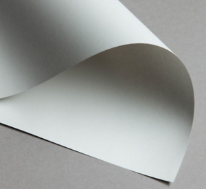 100 x A4 Silver Grey Printer Craft Paper 80gsm