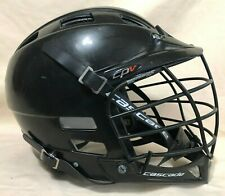 Cascade Cpv Lacrosse Helmet - Black - Youth M/L Adjustable Lax - Pre-Owned