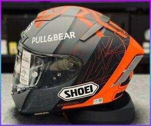 Marc Marquez 93 SHOEI Motorcycle Full Face Helmet X14 Spirit 3 Ducati Orange New