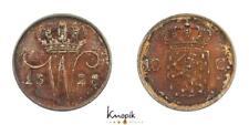 Niederlande-Königreich, Wilhelm I., 10 Cents 1828, Utrecht, 1,67g., Patina, prfr