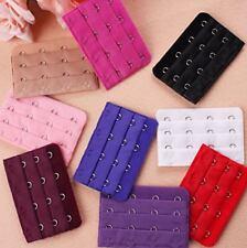 15Pcs Women Bra Extender Soft Strap Extension 4 Hooks 3 Rows Assorted Colors