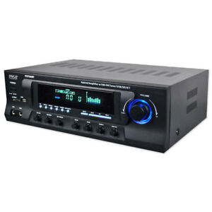 Pyle PT272AUBT Home Theater Stereo System with Bluetooth MP3 USB SD AM/FM Radio
