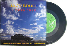 "JACK BRUCE 7"" I Feel Free / Make Love UNPLAYED 1986 Card Slv. CREAM Eric Clapton"