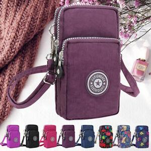 Small Coin Cell Phone Mini Retro Shoulder Bag Wallet Purse Women Cross-body Bags