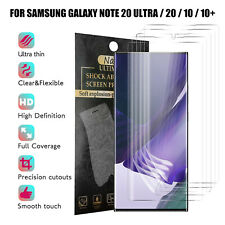 For Samsung Galaxy Note 20 Ultra 10+ HD Fingerprint Unlock Screen Protector Film