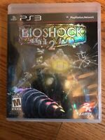 Bioshock 2 PlayStation 3 PS3, Used, Excellent Condition FREE SHIPPING CIB