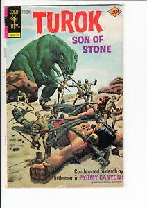 TUROK SON OF STONE #107 (Gold Key 1977): GIOLITTI ART  --  FR