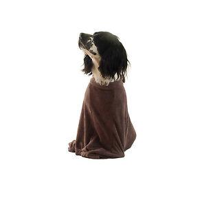 Microfibre Dog Towel Bag To Keep Doggy Warm & Dry FREE UK POSTAGE Sizes S-XL