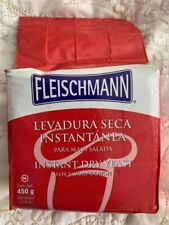 Yeast, Fleischmann Instant Dry Yeast For Bread, 450g., 15.9 oz/ 1lb. EXP 4/30/22