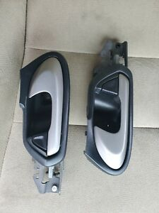 2006-2011 Honda Civic Coupe Front Left & Right Door Handles....Black w/Silver