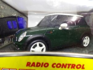 Nikko America Radio Control Mini Cooper 1/24 Scale Green New NIP Full Function