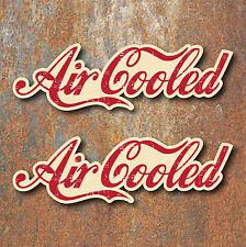 Air cooled Vintage Stickers 150mm Camper Van Beetle Surfer Retro Aircooled